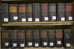 A small part of our archives of regional and national electricity history